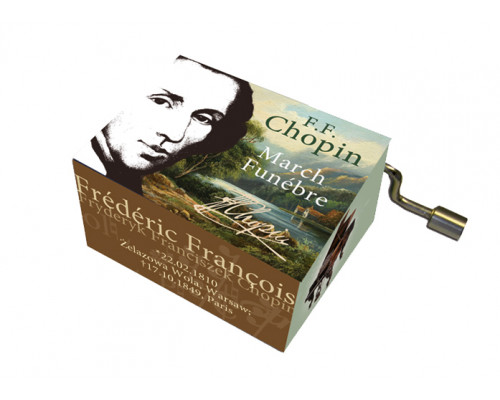 Marche Funèbre Chopin #121 - Boîte à Musique à Manivelle