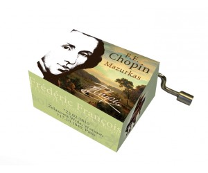 Chopin #123 - Handcrank Music Box