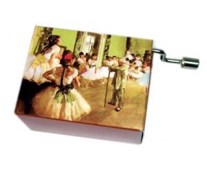 Degas #195 Handcrank Music Box