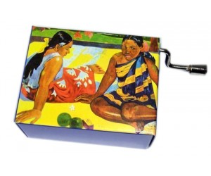 Gauguin #129 Handcrank Music Box
