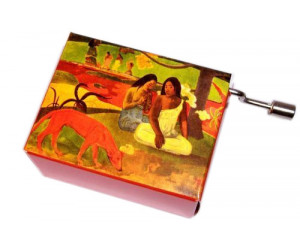 Gauguin #128 - Handcrank Music Box