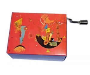 La Flûte Enchantée Kandisky #170 Boîte à Musique à Manivelle
