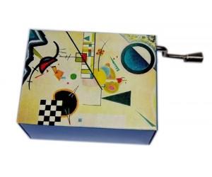 Arabesque Kandisky 181 - Handcrank Music Box
