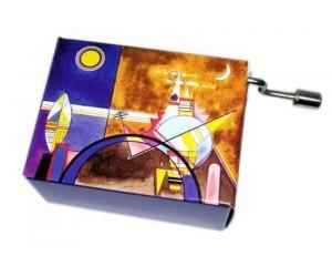 Arabesque Kandisky 182 - Handcrank Music Box