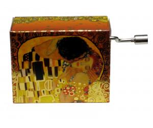 Arabesque Klimt #136 - Boîte à Musique à Manivelle