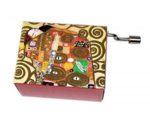 For Elise Klimt #135 - Handcrank Music Box