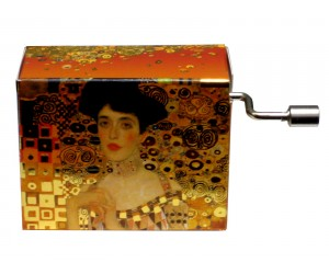 Free as the Wind Klimt #134 - Handcrank Music Box