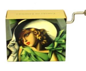 La Vie en Rose Tamara de Lempicka #118 - Boîte à Musique à Manivelle