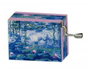 Flower's Waltz Monet #142 Handcrank Music Box