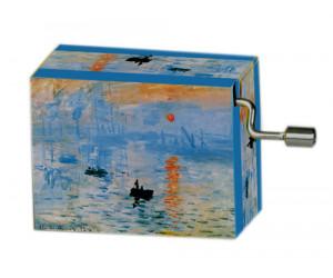 For Élise Monet #144 Handcrank Music Box