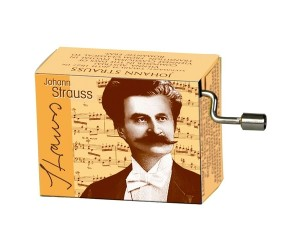 Strauss #166 - Boîte à Musique à Manivelle