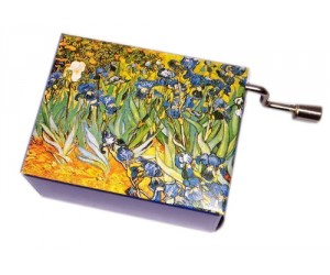 Free as the Wind - Van Gogh #169 - Handcrank Music Box