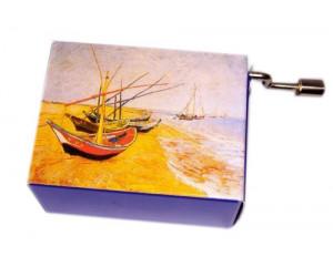 Free as the Wind Van Gogh #201 - Handcrank Music Box