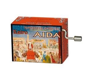 Aïda Verdi #171 - Handcrank Music Box