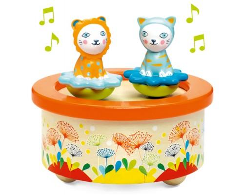 Chats Boîte à Musique Patinoire