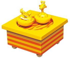 Giraffes - Skating Rink Music Box
