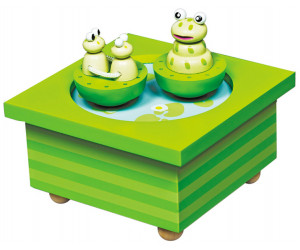 Frogs - Skating Rink Music Box