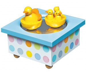 Ducks - Skating Rink Music Box