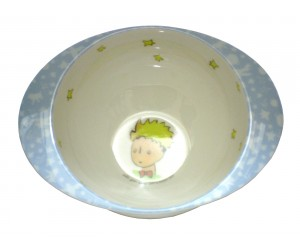 Bowl Blue with ears The Little Prince