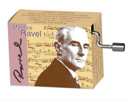 Bolero Ravel #243 Hand Crank Music Box