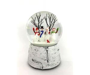 Bonhommes de Neige Dansant Boule à Neige Musicale