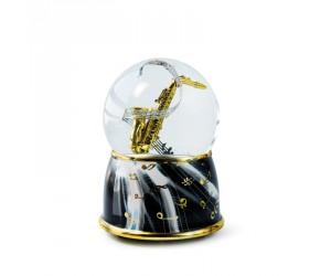 Saxophone Boule à Neige Musicale