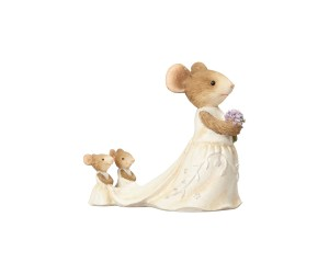 Wee Wedding Helpers Mouse Tails with Heart