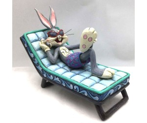Bugs Bunny Chaise Longue Jim Shore