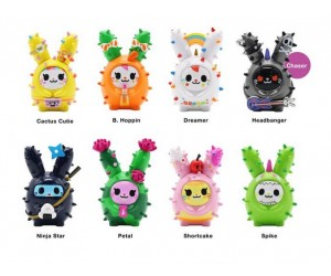 Cactus Bunnies Tokidoki Figurines de Collection