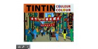 Cahier à Colorier Orange - Tintin