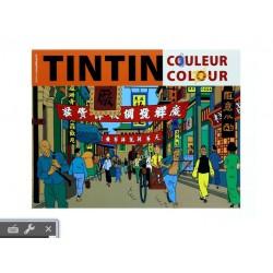 Cahier à Colorier Orange - Tintin