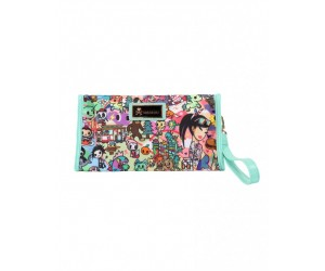 California Dreamin Wristlet Cosmetic Bag Tokidoki