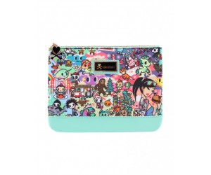 California Dreamin Large Zip Pouch Tokidoki