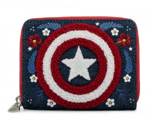 Capitaine America Portefeuille Loungefly