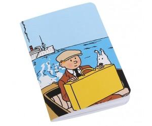 Cahier Grand Tintin et Milou en Bateau