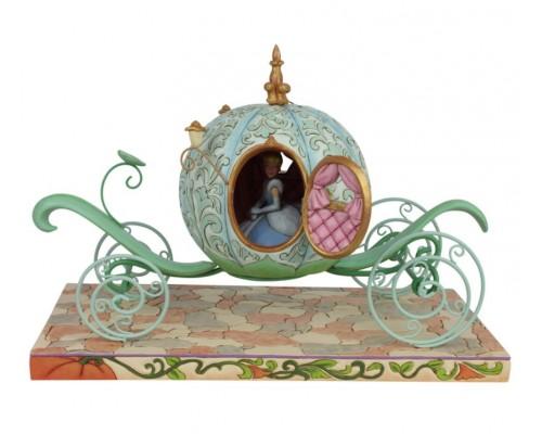 Cendrillon dans son Carrosse Jim Shore Disney Tradition