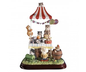 Feline Fete - 2010 Limited Edition  - Comic and Curious Cats Figurine