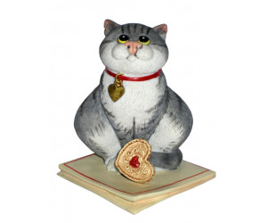 Jammy Dodger  - Comic and Curious Cats Figurine