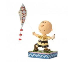Flying Kite Charlie Brown - Peanuts Jim Shore