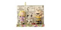 Charlie Brown, Snoopy et Lucy Dansent - Peanut Jim Shore