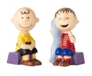 Charlie Brown et Linus Salière et Poivrière