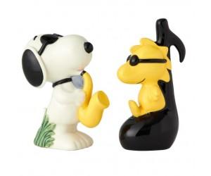 Snoopy Joe Cool et Woodstock Salière et Poivrière