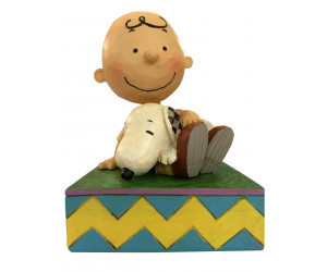 Charlie Brown et Snoopy Peanuts Jim Shore