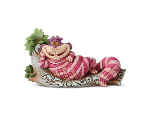 Chat Cheshire sur une Branche Disney Tradition Jim Shore