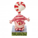 Cheshire Cat Candy Cane Jim Shore Disney Tradition