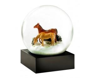 Horses Snow Globe CoolSnowGlobes