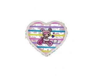 Denim Daze Heart Shape Cosmetic Bag Tokidoki