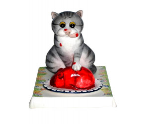 Jelly Belly - Comic and Curious Cats Figurine