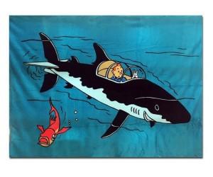 Couverture en Polar Sous-Marin Tintin