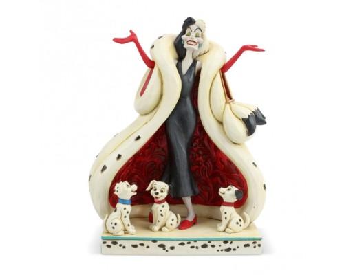 Cruella et les Dalmatiens Disney Traditions Jim Shore
